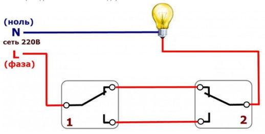 Электросхема ПВ