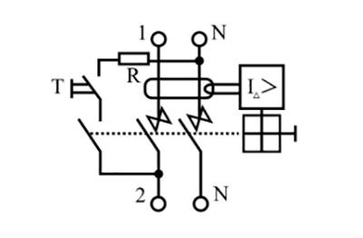 Внутренняя схема на корпусе электромеханического устройства.