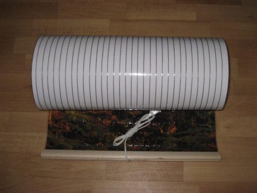 Компактный пленочный электрообогреватель
