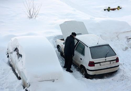 Авто не завелось зимой