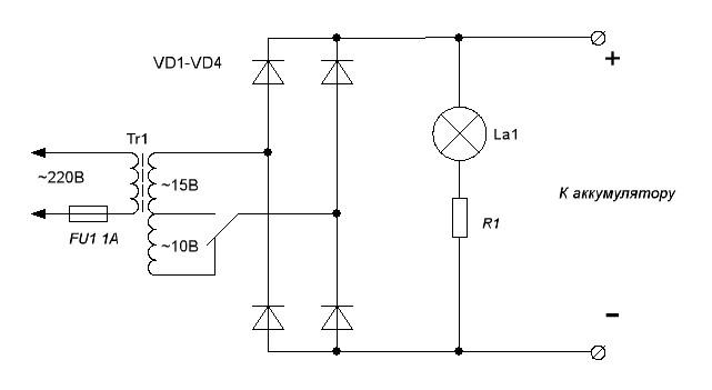 11 примеров схемы на самодельное зарядное устройство для